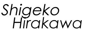 Shigeko Hirakawa's blog