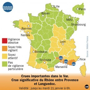 世界の富、ますます偏り・・・引き続きフランスは洪水