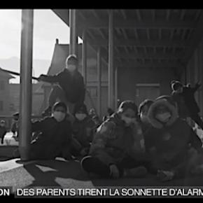 モンブランの大気汚染に怒り、ビデオで発信