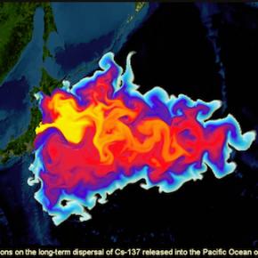 事故以来、海に流れ出ている放射能、毎日20億ベクレル
