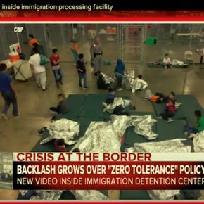 子供を親から引き離すトランプの寛容ゼロ移民政策