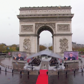 第一次世界大戦停戦100年、パリに各国首脳集まる