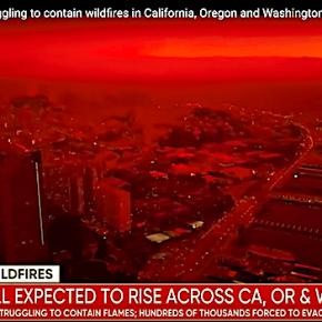 カリフォルニアの大火災は気候変動のせい ⁈
